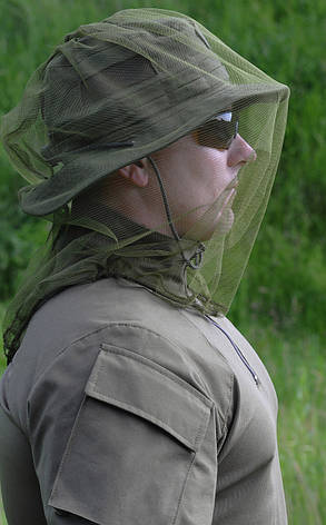 Сетка противомоскитная для головы (маскировочная), фото 2