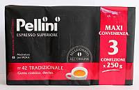 Молотый кофе Pellini, 750г