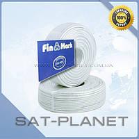 TV кабель 75 Ом FinMark 660 white (100 м)