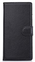 Чехол книжка для  Nokia Lumia 730, 735 черный