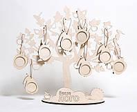 Семейное древо с фото-рамками