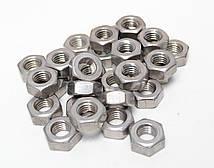 Гайка М5 шестигранная ГОСТ 5927-70, ГОСТ 5915-70, DIN 934 из нержавеющей стали