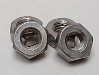 Гайка М10 шестигранная ГОСТ 5927-70, ГОСТ 5915-70, DIN 934 из нержавеющей стали