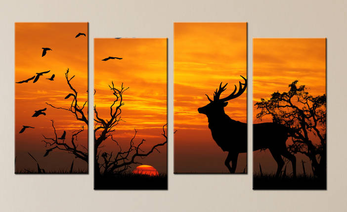 Модульная картина Закат, фото 2