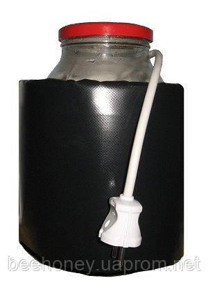 Декристаллизатор, розпуск меду в 3л. банку Розігрів до +40°С. ТМ Апитерм Україна