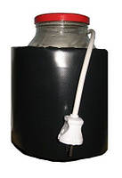 Декристаллизатор, роспуск мёда в банке 3л. Разогрев до +40°С. ТМ Апитерм Украина