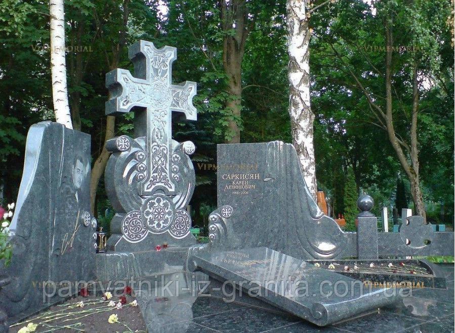 Крест из гранита № 92