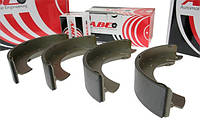 Колодки тормозные задние Chevrolet Aveo(T300)(2011-) ABE C02039