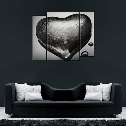 Модульная картина Сердце изо льда, фото 2