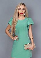 Летнее женское платье с украшением 239-12