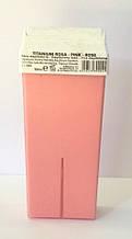 Воск для депиляции в кассетах Италия  Rosa pink 100 мл