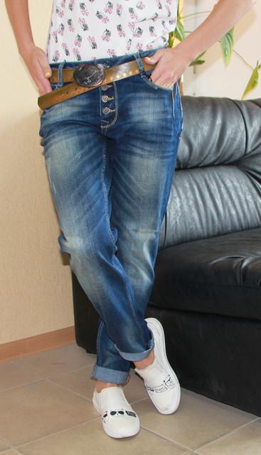 Стильные молодежные женские джинсы