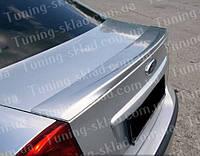 Спойлер Ford Focus 2 седан (спойлер на крышку багажника Форд Фокус 2)