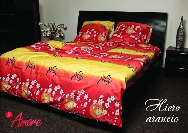 Постельное белье Hiero arancio, Бязь GOLD (TM Amore)
