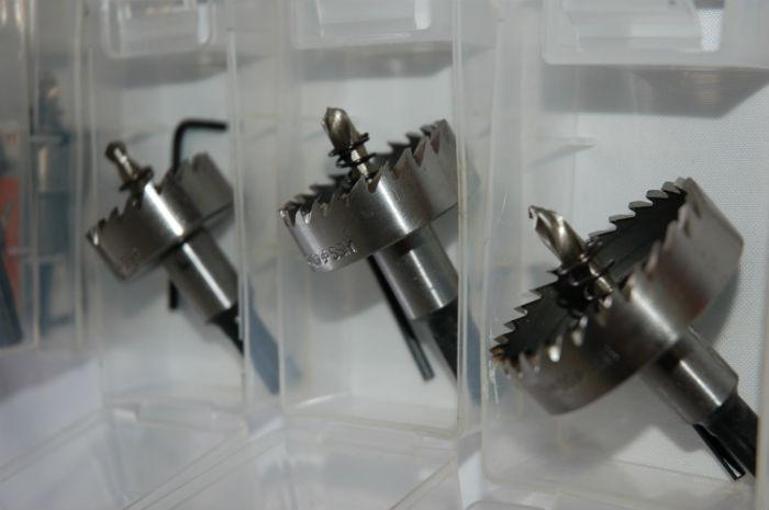 Коронка TCCN по металлу HSS с пружиной, Ø 35 мм