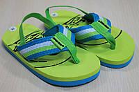 Детские вьетнамки на мальчика, пляжная детская обувь тм Super Gear р.22,26