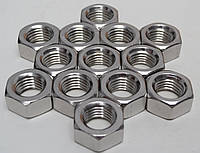 Гайка М24 шестигранная ГОСТ 5927-70, ГОСТ 5915-70, DIN 934 из нержавеющей стали