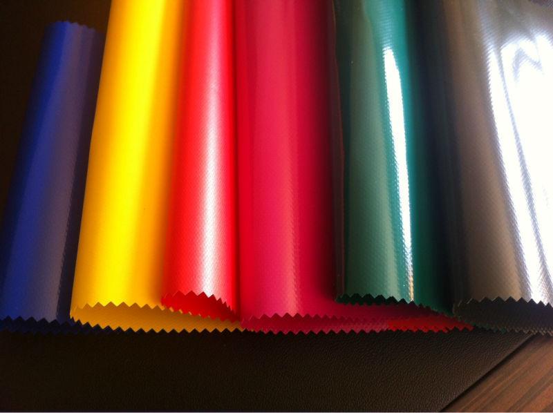 Ткань ПВХ Азия 650г/м2, водонепроницаемая тентовая ткань