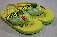 Вьетнамки на мальчика пляжная летняя обувь тм Super Gear р.22,23