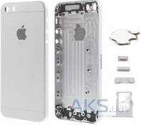Корпус Apple iPhone 5S в стиле iPhone 6 Exclusive Silver