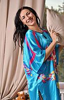 Шелковое кимоно для дома