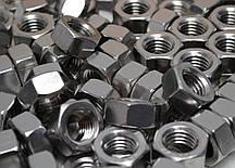 Гайка М8 шестигранная ГОСТ 5927-70, ГОСТ 5915-70, DIN 934 из нержавеющей стали