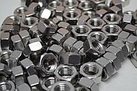 Гайка М14 шестигранная ГОСТ 5927-70, ГОСТ 5915-70, DIN 934 из нержавеющей стали