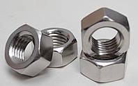Гайка М20 шестигранная ГОСТ 5927-70, ГОСТ 5915-70, DIN 934 из нержавеющей стали