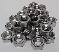 Гайка М27 шестигранная ГОСТ 5927-70, ГОСТ 5915-70, DIN 934 из нержавеющей стали