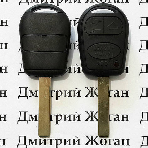 Автоключ Land-Rover (Лэнд Ровер) 3 кнопки ID 44/46 433MHz, фото 2