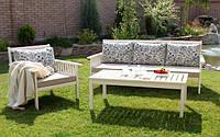 Садовая мебель диван + кресло+ стол из массива ясень