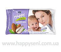 Влажные салфетки HAPPY Natural Care 56шт.