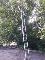 Лестница-стремянка 3х10 КРОК, алюминиевая, фото 4