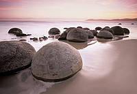 Фотообои  для салонов красоты Валуны вдоль побережья размер 366 х 254 см