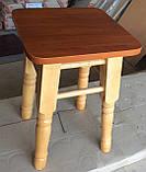 Табурет Барвинок деревянный, фото 2