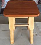 Табурет Барвинок деревянный, фото 3