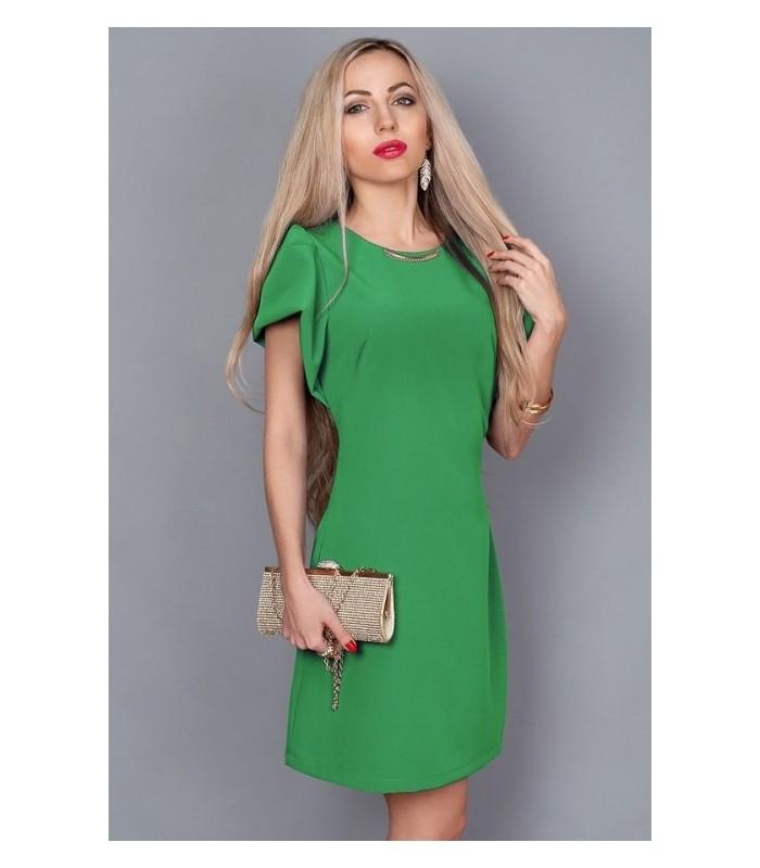 d16cbb72b28 Летнее платье Диана зеленого цвета 239 р 44-48  продажа