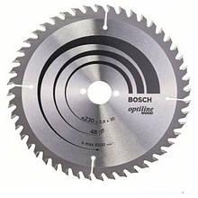 Циркулярный диск Bosch 230x30 48 Optiline