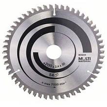 Циркулярный диск Bosch 200x30 54 Multi Material