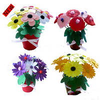 Набор для рукоделия Цветы в вазе
