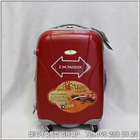 Валіза дорожня на колесах Eminsa 8066S, червона / Чемодан дорожный на колесиках Эминса (Емінса) 8066S, красный