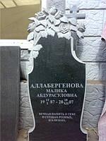 Памятник из гранита Букет роз