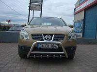 Кенгурин (защита переднего бампера) Nissan Qashqai 2010+