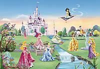 Фотообои бумажные на стену 368х254 см 8 листов: Замок Принцесс. Komar 8-414