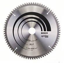 Циркулярный диск Bosch 254Х30 80 GCM 10