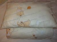 Одеяло и подушка для новорожденных в кроватку