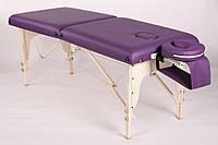 TRIUMPH двухсекционный деревянный складной массажный стол, фото 1