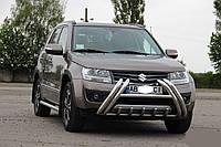 Кенгурин (защита переднего бампера) Suzuki Grand Vitara (2012-2016)