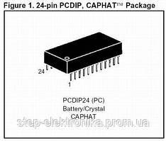 RTC M48T02-150PC1 ST PCDIP24