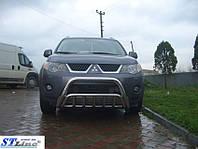 Кенгурин (защита переднего бампера) Mitsubishi Outlander (2006-2010)